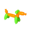 Lola Originals Balloon Animal Terrier Dog