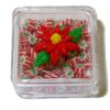 Lola Originals Filled Poinsettia Christmas Candy Box