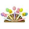 Lola Originals Handcrafted Easter Lollipop Fan Display