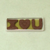 "Lola Originals ""I HEART U"" Valentine Chocolate"