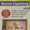 Micro Mini LED Room Lighting - Warm White, 9v Battery Operated