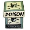 Handcrafted Miniature Poison Box