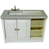 Modern Laundry Utility or Medical Sink Cabinet