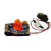 Battery Operated Flickering Fireplace or Camping Fire Log