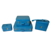 Set of Blue Luggage