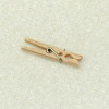 Dieter Dorsch Handcrafted Incredibly Tiny Working Clothespin