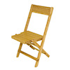 Limited Edition Tom Wolfert Artisan Wood Folding Bridge Chair