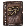 Hand Sculpted Dollhouse Mini Enchanted Magic Eye of Horus Book