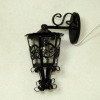 Working Ornate Filigree Carriage or Coach Lamp