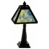 Lighting Floral Shade Art Deco Modern Table Lamp