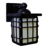 Lighting Craftsman Style Black Coach Lamp