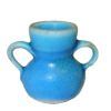 Alex Meiklejohn Signed Blue Pottery Jug or Vase