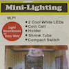 Micro Mini LED Lighting - Cool White, Battery Operated