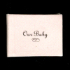 Sparkling Satin Cover Readable Baby's First Book - Cream