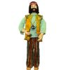 Artisan Crafted Porcelain Dollhouse Doll Far-Out Hippie Dude Guy