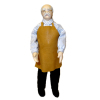 Artisan Crafted Porcelain Man Doll Shopkeeper With Apron