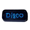 Working Neon Disco Sign - Dark Blue