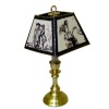Lighting Victorian Sketches Art Shade Library Lamp