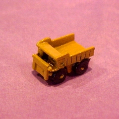 Yellow Metal Dumptruck