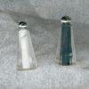 Filled Clear Salt & Pepper Shakers