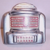 Diner Table Wall Jukebox Selector