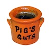 Filled Halloween Crock of Pig's Guts