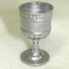 Antique Metal Goblet