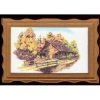 Framed Landscape of Country Store