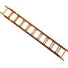 Sir Thomas Thumb Working Tall Wood Extension Ladder