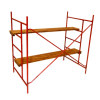 Artisan Metal and Wood Construction Scaffolding Set