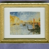 Framed Gondola in Venice Picture