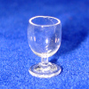 Real Clear Glass Wine Cordial or Brandy Glass
