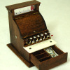 Nantasy Fantasy Handcrafted Opening Antique Cash Register