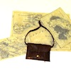 Nantasy Fantasy Handcrafted Leather Map Pouch with Maps