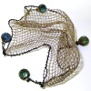 Nantasy Fantasy Aged Cast Fishing Net Seine with Glass Floats