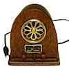Nantasy Fantasy Handcrafted Antique Style Cathedral Radio