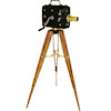 Nantasy Fantasy Handcrafted Silent Movie Camera on Tripod