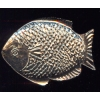 Silver Fish Seafood Serving Platter