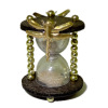 Artisan Crafted Haunted Magic Dragonfly Hourglass