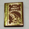 Handcrafted Gold Embossed All About Dinosaurs Book