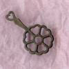Hanging Cast Iron Heart Trivet