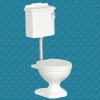 Avalon Toilet With High Flush Tank