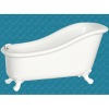 Avalon Modern White Soaking Tub Bathtub