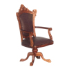 Wooten Walnut Desk Chair