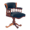 Cockroft Walnut Desk Chair