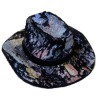 Prestige Leather Handpainted Cowboy Hat