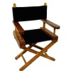 Wood and Suede Director Chair