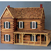 Ponderosa Luxury Rustic Log Cabin Dollhouse Kit