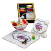 Reutter Porcelain Needlepoint Embroidery Sewing Set
