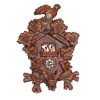 Tiny Reutter Porcelain Black Forest Cuckoo Clock
